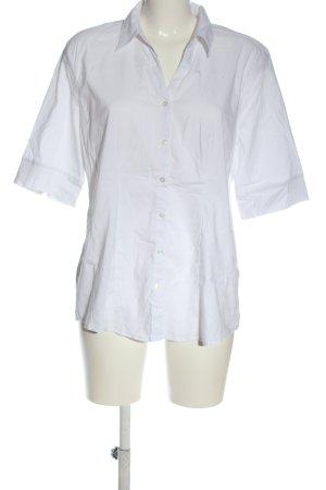 More & More Shirt met korte mouwen wit zakelijke stijl