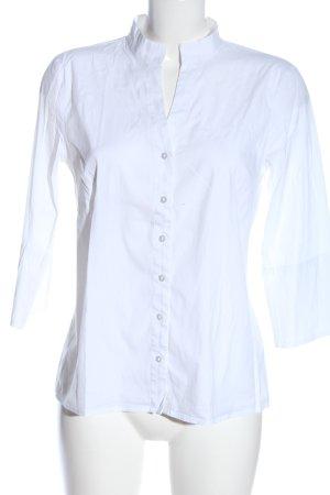 More & More Camisa de manga corta blanco estilo «business»