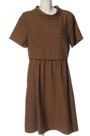 More & More Sukienka z krótkim rękawem Na całej powierzchni Elegancki