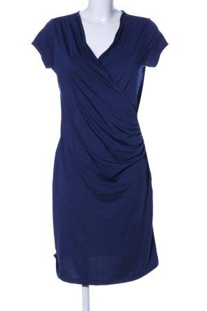 More & More Kurzarmkleid blau Casual-Look