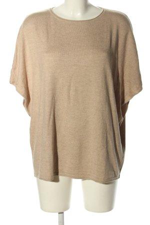 More & More Sweter z krótkim rękawem kremowy W stylu casual