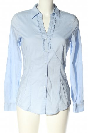 More & More Langarm-Bluse blau Casual-Look