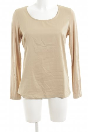 More & More Langarm-Bluse wollweiß Casual-Look