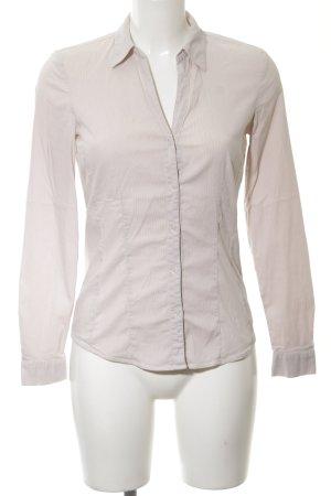 More & More Langarm-Bluse wollweiß klassischer Stil