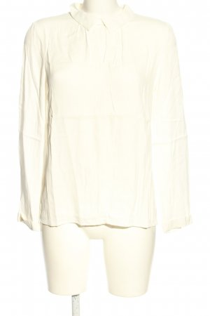 More & More Langarm-Bluse weiß Casual-Look
