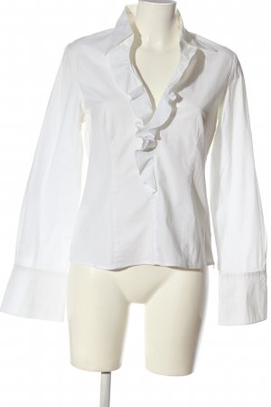 More & More Blouse à manches longues blanc style décontracté