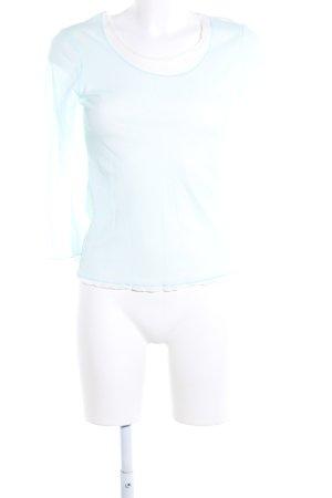 More & More Langarm-Bluse türkis Casual-Look