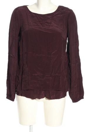 More & More Langarm-Bluse braun Casual-Look