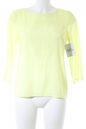 More & More Langarm-Bluse gelb Casual-Look