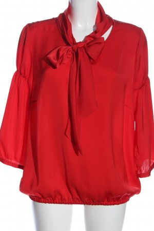 More & More Langarm-Bluse rot Casual-Look
