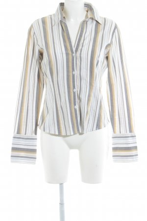 More & More Langarm-Bluse Streifenmuster Casual-Look