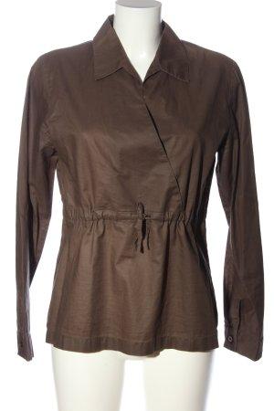 More & More Langarmhemd braun Casual-Look