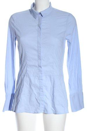 More & More Camisa de manga larga azul estilo «business»