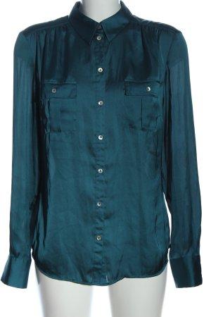 More & More Langarmhemd blau Casual-Look