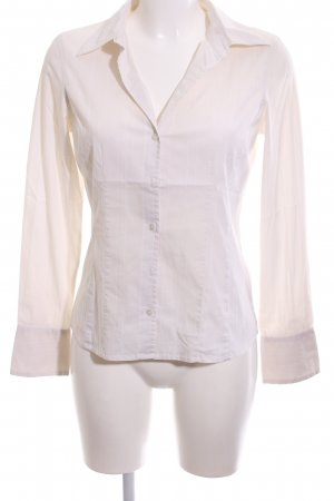 More & More Camisa de manga larga blanco puro estampado a rayas