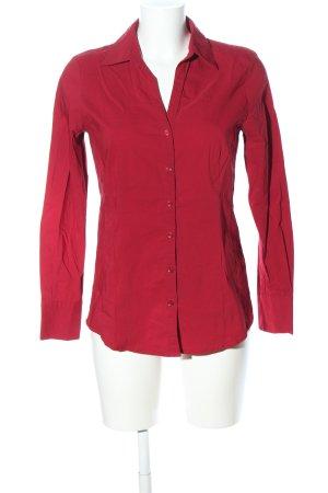 More & More Camicia a maniche lunghe rosso stile casual