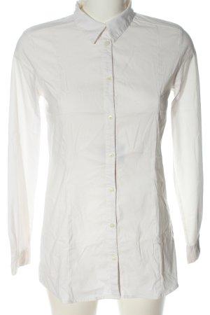More & More Koszula z długim rękawem biały W stylu biznesowym