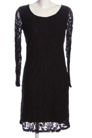 More & More Langarmkleid schwarz Elegant