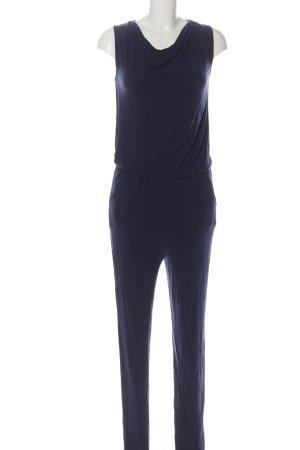More & More Langer Jumpsuit blau Casual-Look
