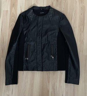 More & More Leather Jacket black