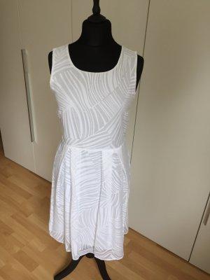 More & More Leichtes Kleid, Weiß