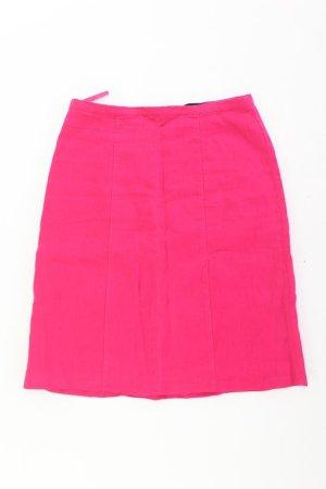 Falda de lino rosa claro-rosa-rosa-rosa neón Lino