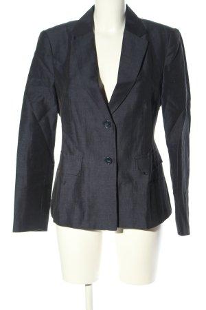 More & More Long-Blazer schwarz-weiß meliert Business-Look