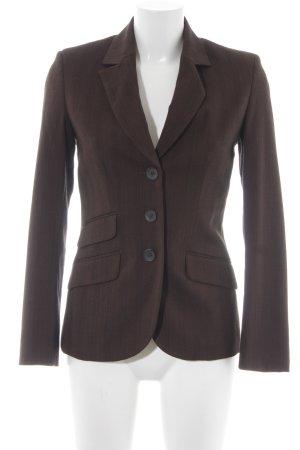 More & More Long-Blazer dunkelbraun-braun Business-Look