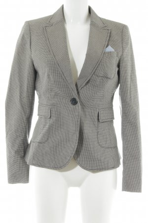 More & More Long-Blazer Hahnentrittmuster Business-Look
