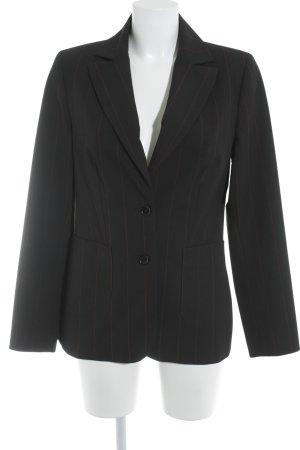 More & More Long-Blazer schwarz-rot Business-Look