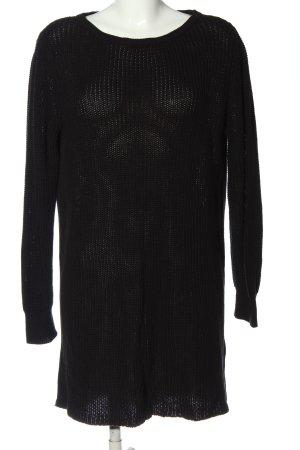 More & More Długi sweter czarny W stylu casual