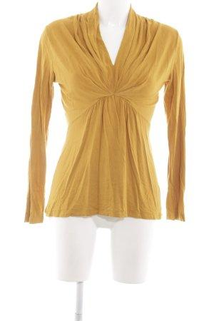 More & More Longshirt blassgelb Casual-Look