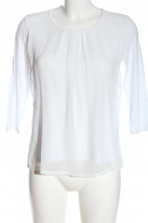 More & More Longsleeve white business style