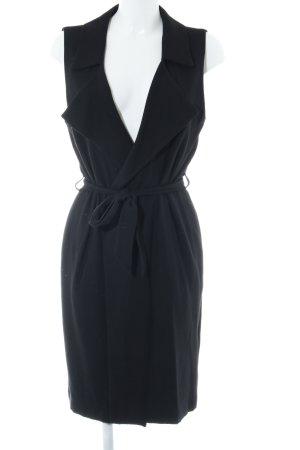 More & More Gilet long tricoté noir style décontracté
