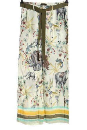 More & More Pantalón anchos estampado temático look casual