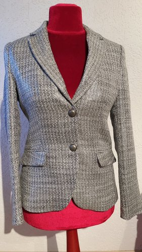 More & More Knitted Blazer silver-colored