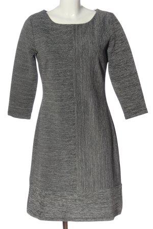 More & More Robe mi-longue gris clair moucheté style d'affaires