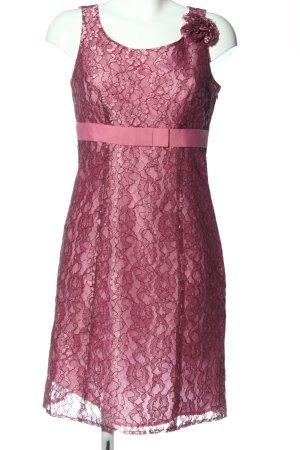 More & More Midikleid pink Allover-Druck Elegant