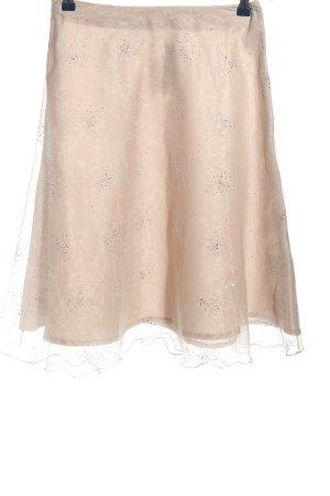 More & More Spódnica midi w kolorze białej wełny Elegancki