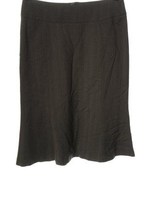 More & More Spódnica midi brązowy Wzór w paski W stylu biznesowym