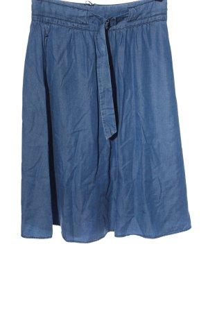 More & More Jupe mi-longue bleu style décontracté