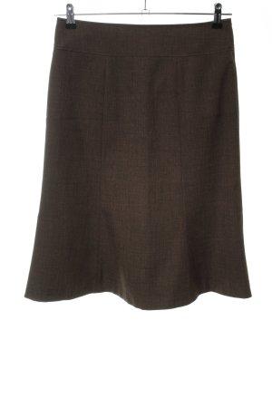 More & More Spódnica midi brąz Melanżowy W stylu biznesowym