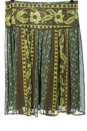 More & More Spódnica midi Graficzny wzór W stylu casual