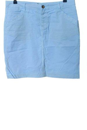 More & More Minirock blau Casual-Look