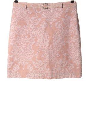 More & More Mini-jupe rose motif abstrait style décontracté