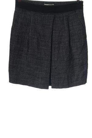 More & More Mini rok blauw-zwart casual uitstraling