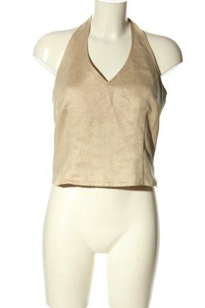 More & More Top senza maniche bianco sporco stile casual