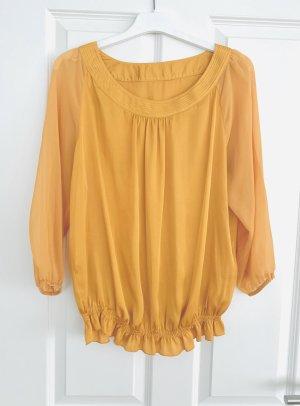More&More Orange Bluse / Top/ langarm Shirt/ Oberteil Gr. 40/L