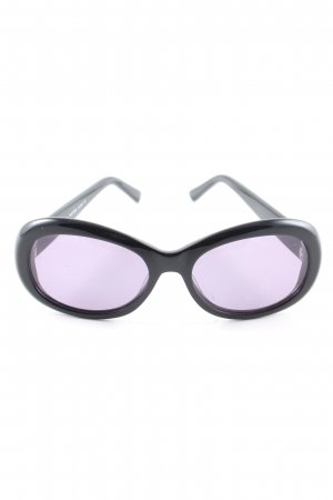 More & More ovale Sonnenbrille schwarz Casual-Look