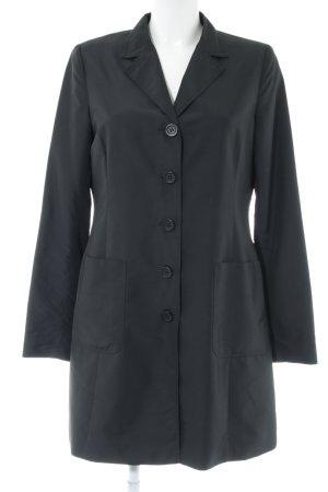 More & More Oversized Mantel schwarz Elegant